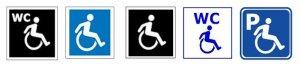 wheelchair symbol new