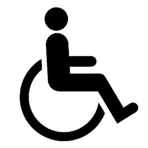 wheelchair symbol original