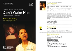Chickenshed_DontWake_for nihal
