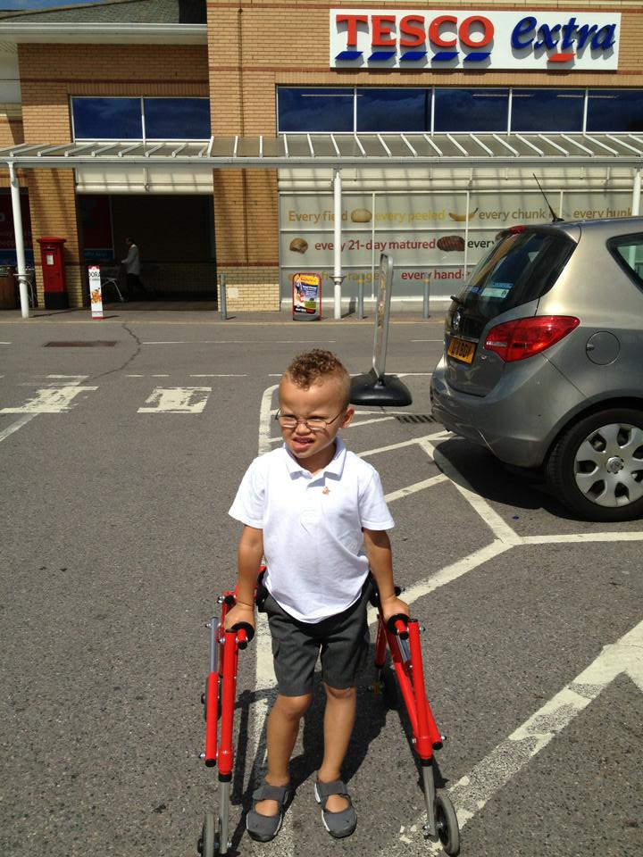 Tesco Store Refuses Entry To Disabled Boy Using Walking