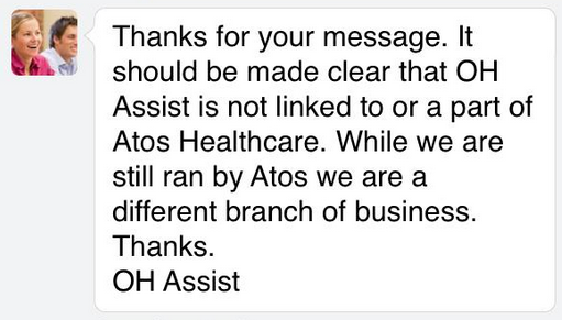 ATOS is not ATOS