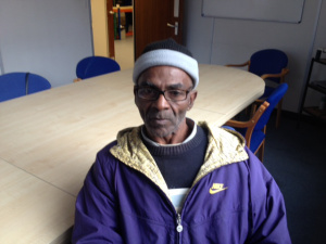 Kestna Marsh is disabled. He was forced to the foodbank after a tribunal upheld a  DWP decision to stop his benefit.